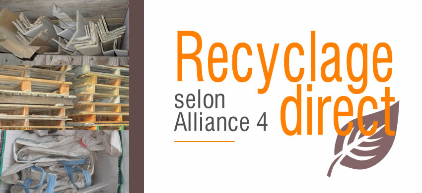 Recyclage direct selon Alliance 4